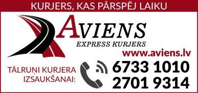 """""""A1 Express kurjers"""", kurjerdienests reklāma Latvijas pašvaldību amatpersonu un politiķu kontaktinformācijas katalogā"""