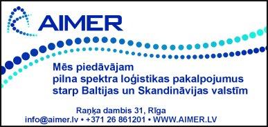 """""""Aimer"""", SIA reklāma Latvijas pašvaldību amatpersonu un politiķu kontaktinformācijas katalogā"""