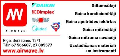 """""""Airwave"""", SIA reklāma Latvijas pašvaldību amatpersonu un politiķu kontaktinformācijas katalogā"""