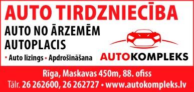 """""""Autokompleks"""", SIA reklāma Latvijas pašvaldību amatpersonu un politiķu kontaktinformācijas katalogā"""
