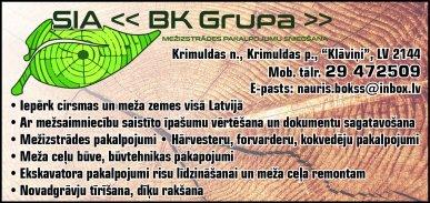 """""""BK Grupa"""", SIA reklāma Latvijas pašvaldību amatpersonu un politiķu kontaktinformācijas katalogā"""