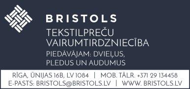 """""""Bristols ES"""", SIA reklāma Latvijas pašvaldību amatpersonu un politiķu kontaktinformācijas katalogā"""