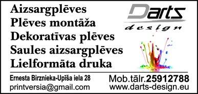 """""""Darts Design"""", SIA reklāma Latvijas pašvaldību amatpersonu un politiķu kontaktinformācijas katalogā"""