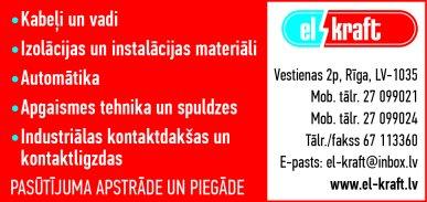 """""""EL-Kraft"""", SIA, Veikals reklāma Latvijas pašvaldību amatpersonu un politiķu kontaktinformācijas katalogā"""