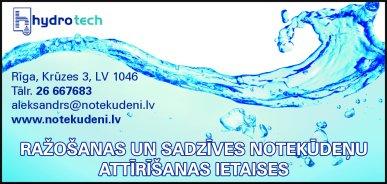 """""""Hydrotech"""", SIA reklāma Latvijas pašvaldību amatpersonu un politiķu kontaktinformācijas katalogā"""