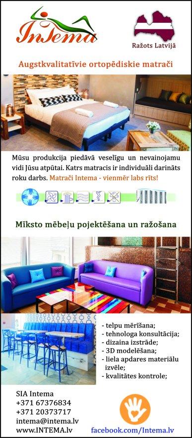 """""""Intema"""", SIA reklāma Latvijas pašvaldību amatpersonu un politiķu kontaktinformācijas katalogā"""