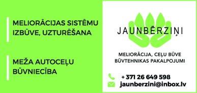 """""""Jaunbērziņi"""", SIA reklāma Latvijas pašvaldību amatpersonu un politiķu kontaktinformācijas katalogā"""