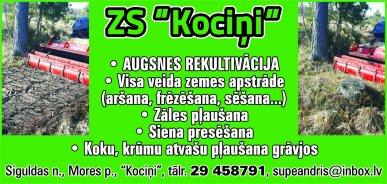 """""""Kociņi"""", ZS reklāma Latvijas pašvaldību amatpersonu un politiķu kontaktinformācijas katalogā"""