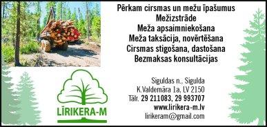"""""""Līrikera-M"""", SIA reklāma Latvijas pašvaldību amatpersonu un politiķu kontaktinformācijas katalogā"""