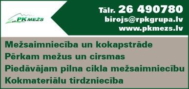 """""""PK Mežs"""", SIA reklāma Latvijas pašvaldību amatpersonu un politiķu kontaktinformācijas katalogā"""