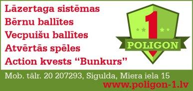 """""""Poligon 1"""", SIA reklāma Latvijas pašvaldību amatpersonu un politiķu kontaktinformācijas katalogā"""