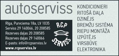 """""""RCP Autocentrs"""", SIA reklāma Latvijas pašvaldību amatpersonu un politiķu kontaktinformācijas katalogā"""