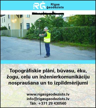 """""""Rīgas ģeodēzists"""", SIA reklāma Latvijas pašvaldību amatpersonu un politiķu kontaktinformācijas katalogā"""