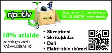 """""""Borngate"""", SIA reklāma Latvijas pašvaldību amatpersonu un politiķu kontaktinformācijas katalogā"""