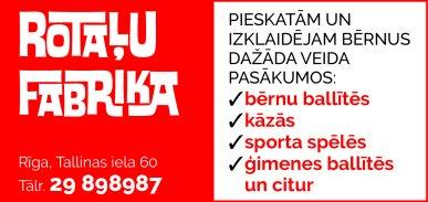 """""""Rotaļu fabrika"""", SIA, Filiāle reklāma Latvijas pašvaldību amatpersonu un politiķu kontaktinformācijas katalogā"""