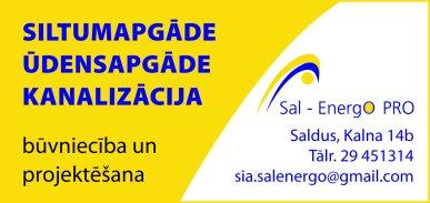 """""""Sal-Energo PRO"""", SIA reklāma Latvijas pašvaldību amatpersonu un politiķu kontaktinformācijas katalogā"""