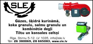 """""""SLE"""", SIA reklāma Latvijas pašvaldību amatpersonu un politiķu kontaktinformācijas katalogā"""
