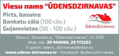 """""""VN ūdens-dzirnavas"""", SIA reklāma Latvijas pašvaldību amatpersonu un politiķu kontaktinformācijas katalogā"""