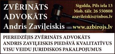 Zaviļeiskis A., zvērināts advokāts reklāma Latvijas pašvaldību amatpersonu un politiķu kontaktinformācijas katalogā