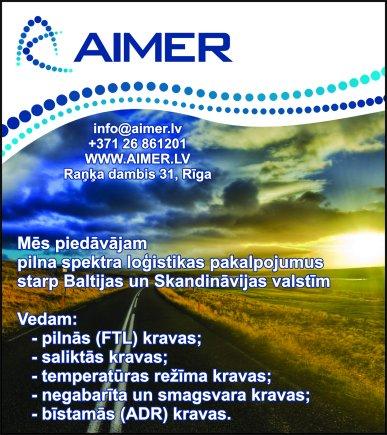 """""""Aimer"""", SIA reklāma Rīgas domes amatpersonu un politiķu kontaktinformācijas katalogā"""