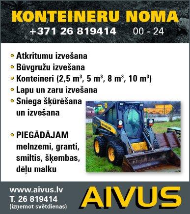 """""""Aivus"""", SIA reklāma Rīgas domes amatpersonu un politiķu kontaktinformācijas katalogā"""