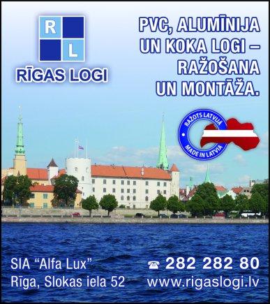 """""""Alfa Lux"""", SIA reklāma Rīgas domes amatpersonu un politiķu kontaktinformācijas katalogā"""