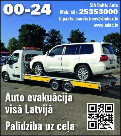 """""""Baltic Auto"""", SIA reklāma Rīgas domes amatpersonu un politiķu kontaktinformācijas katalogā"""