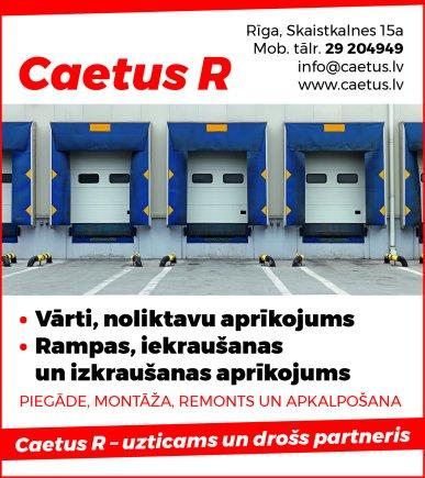 """""""Caetus R"""", SIA reklāma Rīgas domes amatpersonu un politiķu kontaktinformācijas katalogā"""