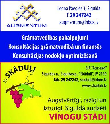 """""""Censuva"""", SIA reklāma Latvijas pašvaldību amatpersonu un politiķu kontaktinformācijas katalogā"""