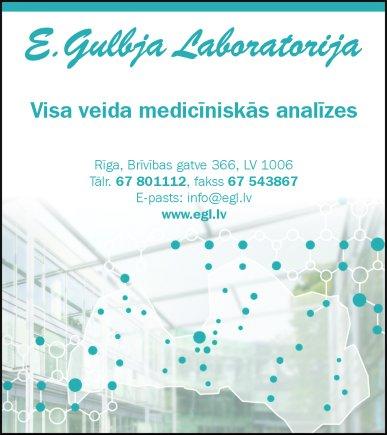 """""""E.Gulbja laboratorija"""", SIA reklāma Rīgas domes amatpersonu un politiķu kontaktinformācijas katalogā"""