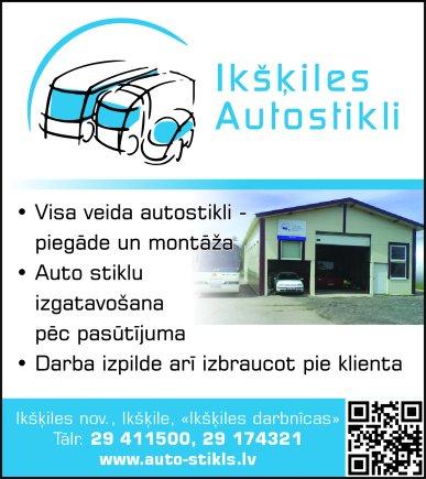"""""""Ikšķiles autostiklu centrs"""", SIA reklāma Rīgas domes amatpersonu un politiķu kontaktinformācijas katalogā"""