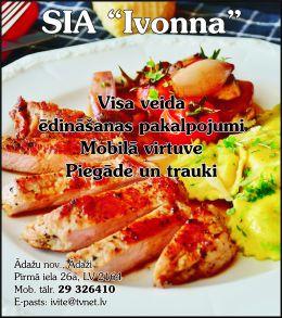"""""""Ivonna"""", SIA reklāma Latvijas pašvaldību amatpersonu un politiķu kontaktinformācijas katalogā"""