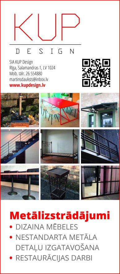 """""""KUP Design"""", SIA reklāma Latvijas pašvaldību amatpersonu un politiķu kontaktinformācijas katalogā"""