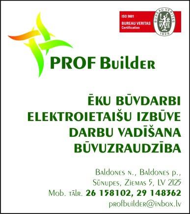 """""""ProfBuilder"""", SIA reklāma Latvijas pašvaldību amatpersonu un politiķu kontaktinformācijas katalogā"""