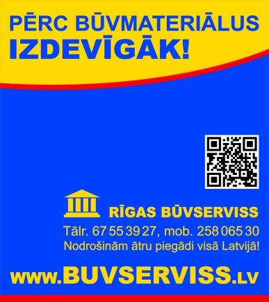 """""""Rīgas būvserviss"""", SIA reklāma Latvijas pašvaldību amatpersonu un politiķu kontaktinformācijas katalogā"""