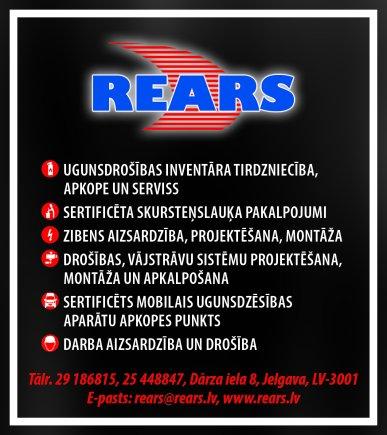 """""""Rears"""", SIA reklāma Latvijas pašvaldību amatpersonu un politiķu kontaktinformācijas katalogā"""