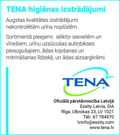"""""""Essity Latvia"""", SIA reklāma Latvijas pašvaldību amatpersonu un politiķu kontaktinformācijas katalogā"""