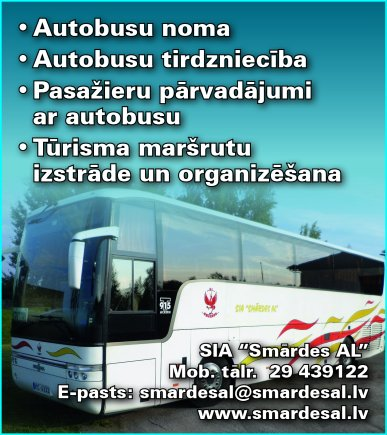 """""""Smārdes AL"""", SIA reklāma Latvijas pašvaldību amatpersonu un politiķu kontaktinformācijas katalogā"""