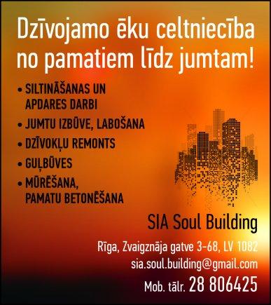 """""""Soul Building"""", SIA reklāma Latvijas pašvaldību amatpersonu un politiķu kontaktinformācijas katalogā"""
