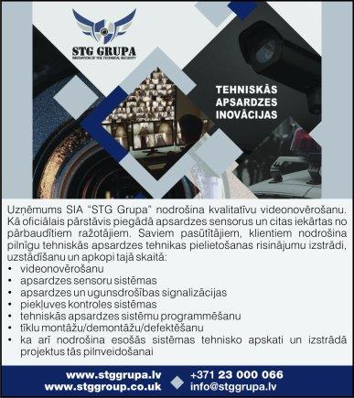"""""""STG grupa"""", SIA reklāma Latvijas pašvaldību amatpersonu un politiķu kontaktinformācijas katalogā"""