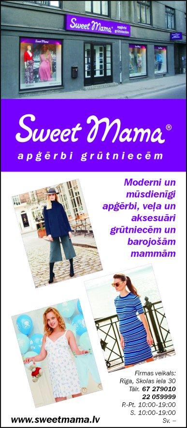 """""""Sweet Mama"""", SIA reklāma Latvijas pašvaldību amatpersonu un politiķu kontaktinformācijas katalogā"""