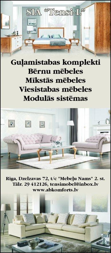 """""""Tensi-L"""", SIA reklāma Latvijas pašvaldību amatpersonu un politiķu kontaktinformācijas katalogā"""