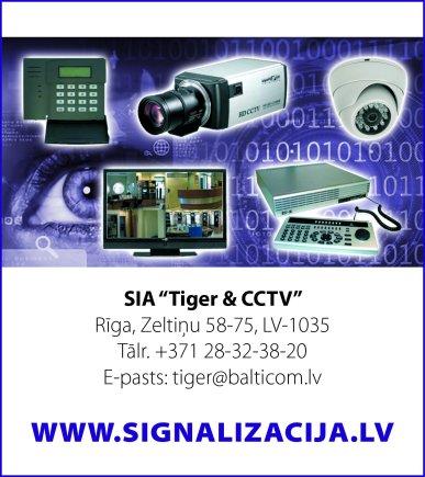 """""""Tiger & CCTV"""", SIA reklāma Latvijas pašvaldību amatpersonu un politiķu kontaktinformācijas katalogā"""