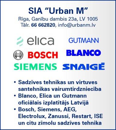 """""""Urban M"""", SIA reklāma Latvijas pašvaldību amatpersonu un politiķu kontaktinformācijas katalogā"""