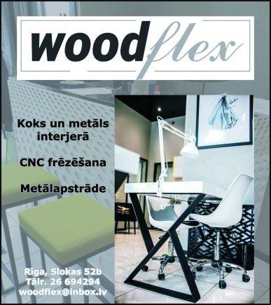 """""""Woodflex"""", SIA reklāma Latvijas pašvaldību amatpersonu un politiķu kontaktinformācijas katalogā"""