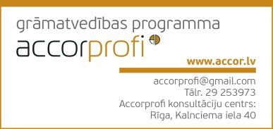 """""""PROFI studija"""", SIA reklāma Rīgas domes amatpersonu un politiķu kontaktinformācijas katalogā"""