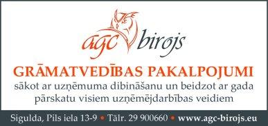 """""""AGC birojs"""", SIA reklāma Latvijas pašvaldību amatpersonu un politiķu kontaktinformācijas katalogā"""