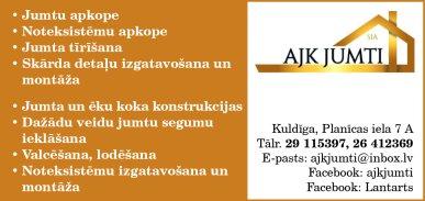 """""""AJK jumti"""", SIA reklāma Latvijas pašvaldību amatpersonu un politiķu kontaktinformācijas katalogā"""