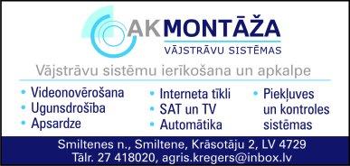 """""""AK Montāža"""", IK reklāma Rīgas domes amatpersonu un politiķu kontaktinformācijas katalogā"""