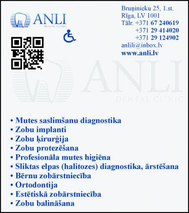"""""""Anli"""", SIA reklāma Rīgas domes amatpersonu un politiķu kontaktinformācijas katalogā"""
